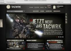 Der neue TACWRK® Online-Shop