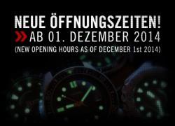 Neue Öffnungszeiten im TACWRK Showroom Berlin + Lange Samstage vor Weihnachten!