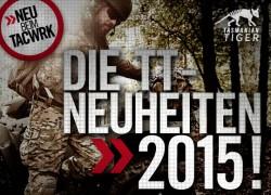 TASMANIAN TIGER Neuheiten 2015 jetzt beim TACWRK!