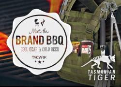 TACWRK 3. Brand BBQ mit Tasmanian Tiger