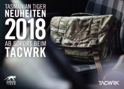 Tasmanian Tiger Neuheiten 2018 jetzt bestellbar!