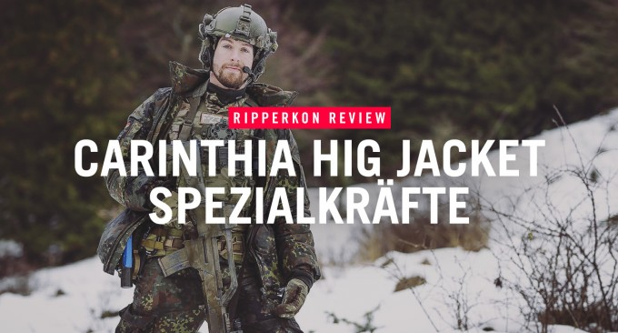 Carinthia HIG SpezKr Flecktarn