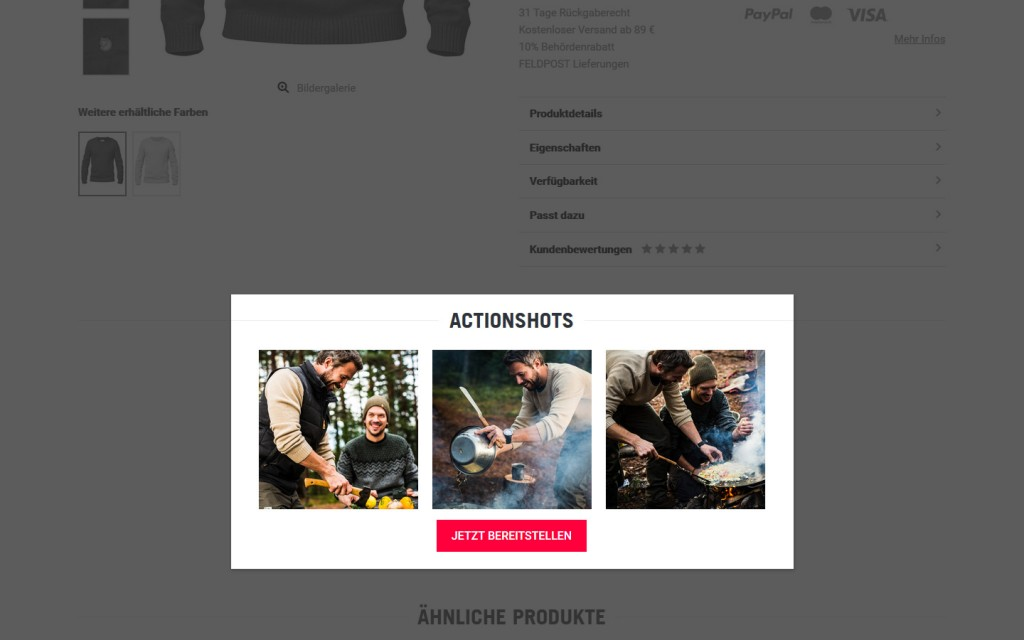 Action Shots TACWRK Onlineshop