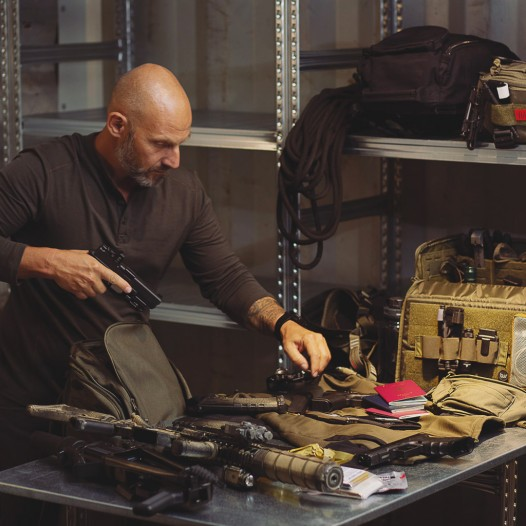 Der TT Modular Range Bag ist ein taktischer Allrounder, der eine eine verstell- und ausklettbare Inneneinteilung besitzt sowie abklettbare Magazin- und herausnehmbare Innentaschen für Munition, Werkzeug und Zubehör.