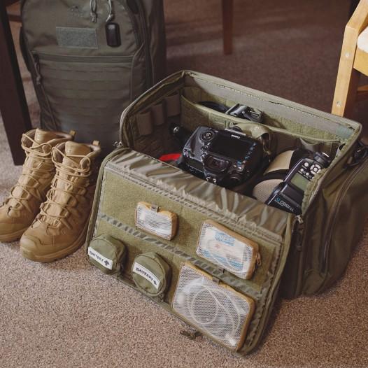 Der TT Modular Range Bag wurde zwar als modulare Trainingstasche für Schützen entwickelt, eignet sich aber auch hervorragend als Kameratasche oder Bugout Bag.