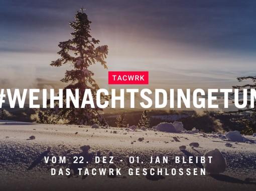 TACWRK Weihnachtsdinge