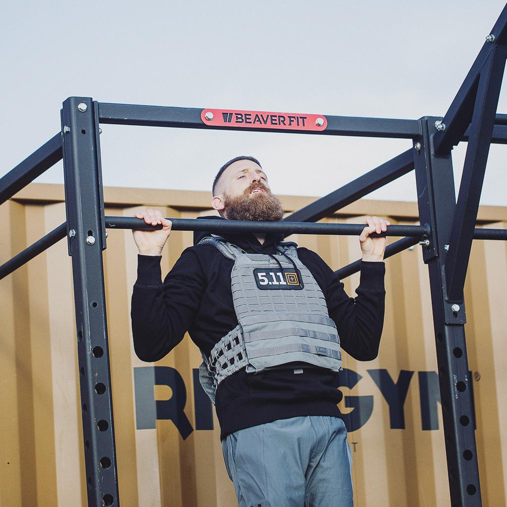 Fit im Home Workout TACWRK BeaverFit Plattenträger Bundle