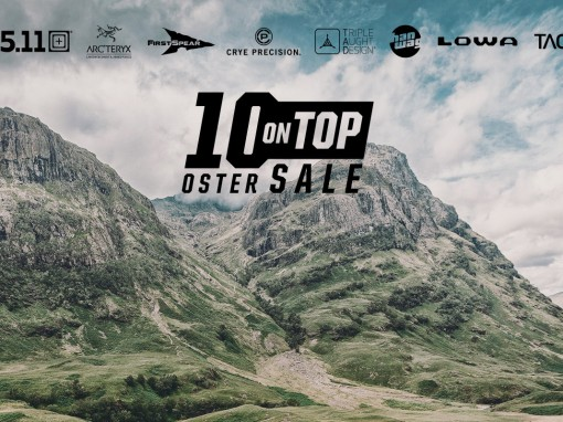 10% Extra-Rabatt auf 5.11 Tactical, Arc'teryx LEAF, Crye Precision, First Spear, HANWAG, TACWRK, Tasmanian Tiger, LOWA und Triple Aught Design. Code: OSTER10