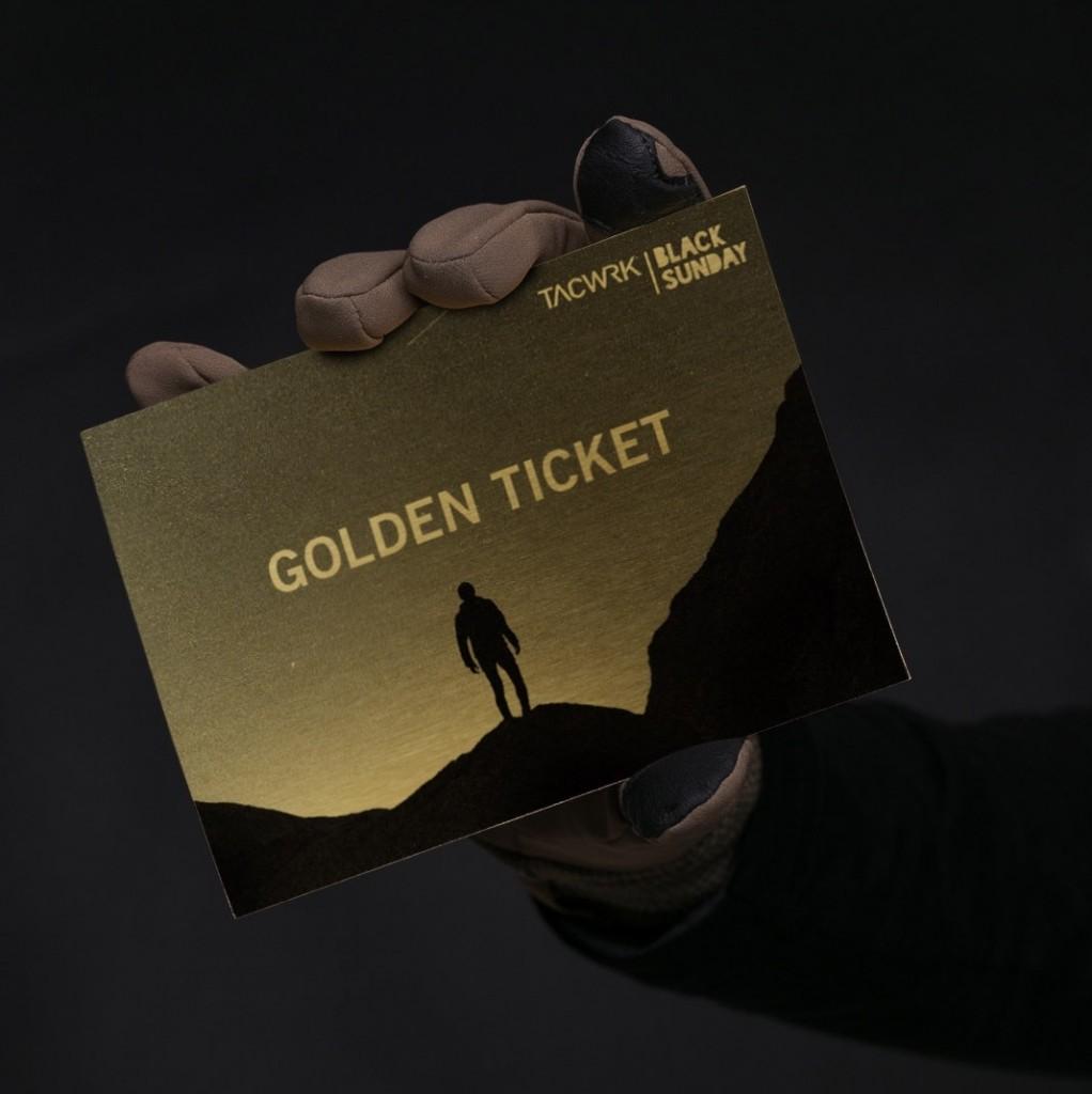 TACWRK Golden Ticket Gewinnspiel