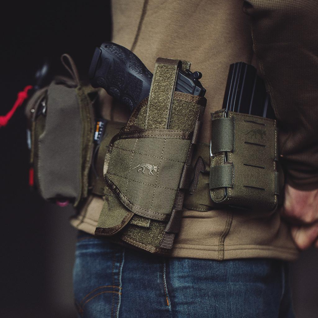 Gunslinger Bundle: TT Warrior Belt LC mit passenden Magazintaschen, TT Dump Pouch und Tac Holster MKII erhaltet Ihr als absolutes Highlight die TT IFAK Pouch VL