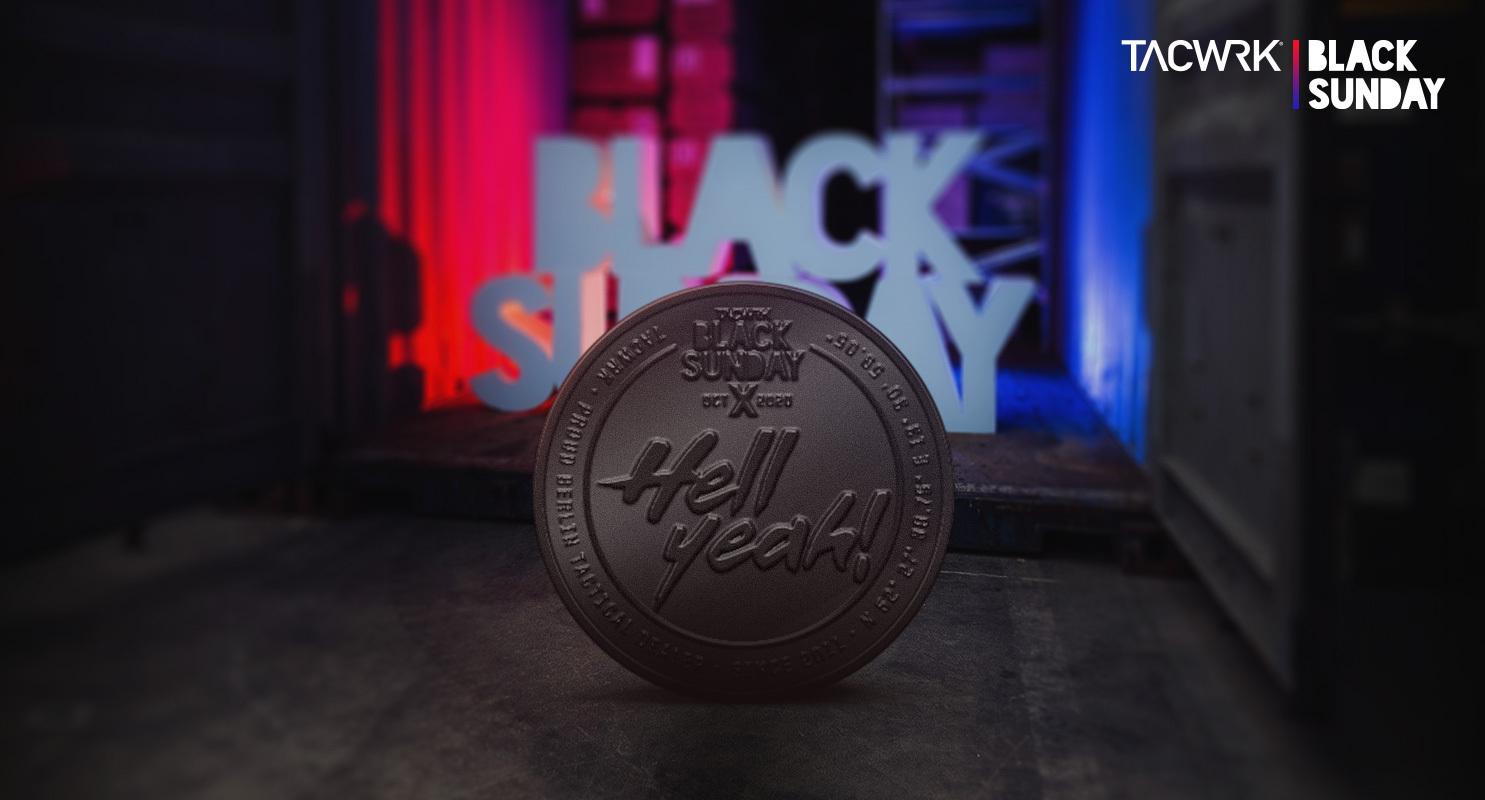 BlackSunday Decision Coin Jubiläum