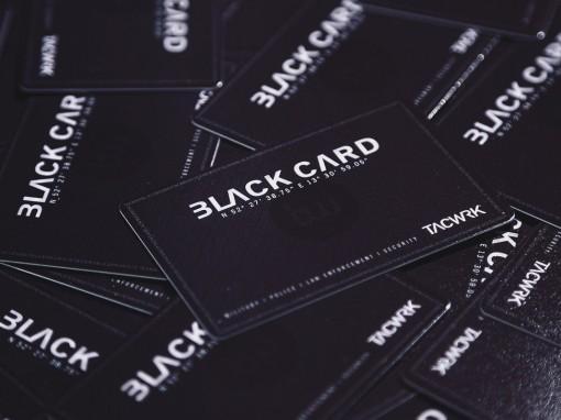 TACWKR Black Card Kundenkarte