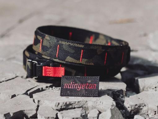 md-textil Multicam Black Gürtel