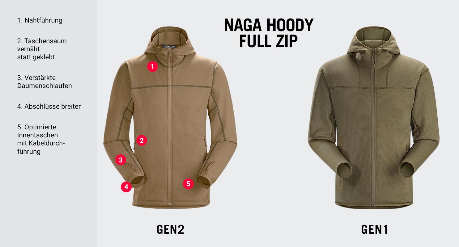 Ar'teryx LEAF Naga Hoody Full Zip