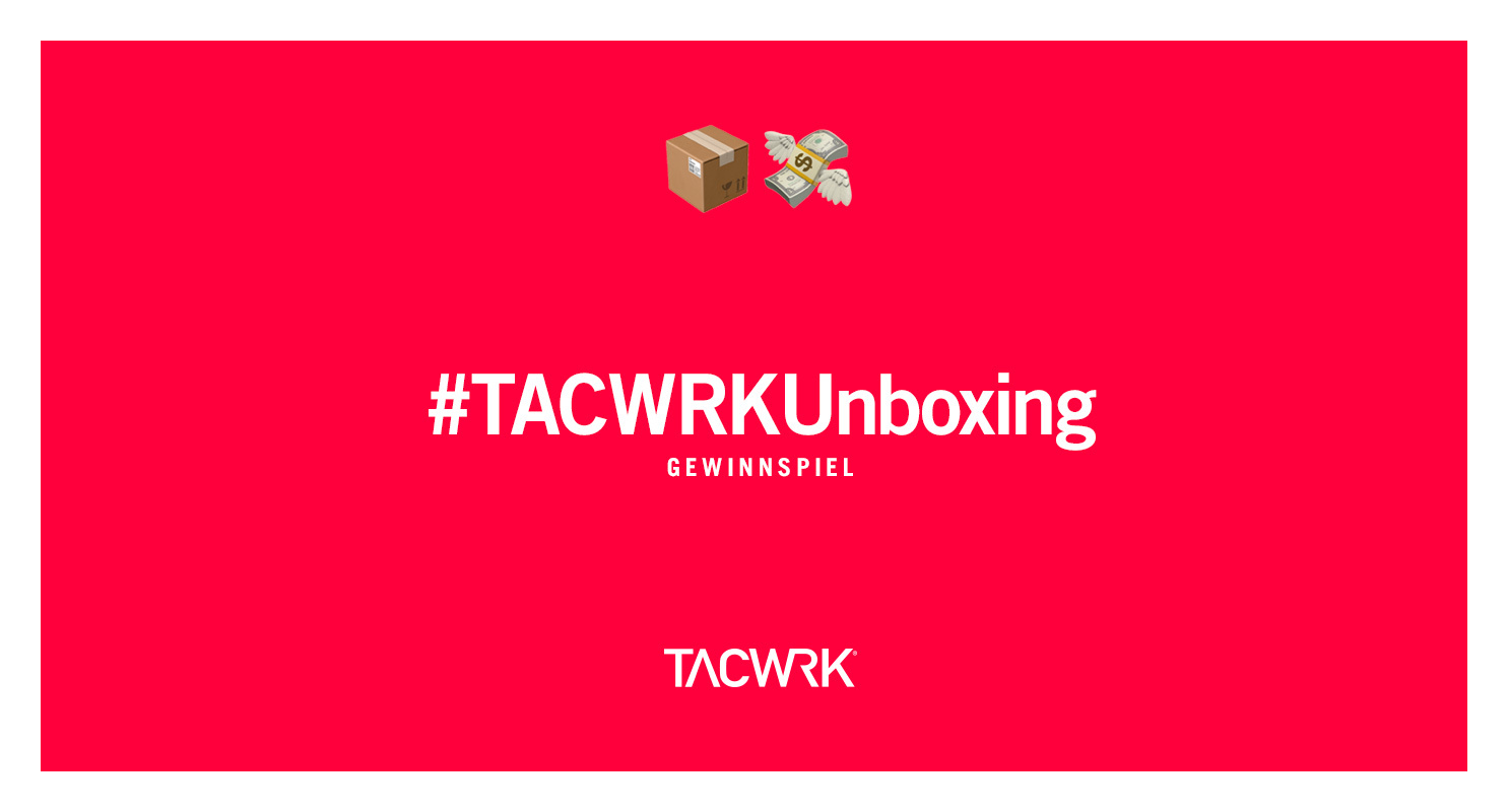 TACWRKUnboxing Gewinnspiel