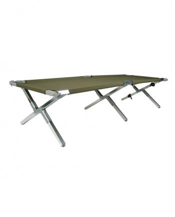 MIL-TEC Sturm US Aluminum Folding Cot 210x65 cm Gen. II - TACWRK