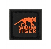 3D Patch Black Orange