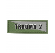 Trauma 2 Green Grey Patch