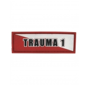 Trauma 1 White Red
