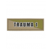 Trauma 1 Tan Green Patch
