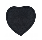 Mean T-Skull Bloody Valentine Patch Blackout