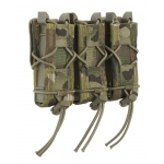 Triple Pistol TACO Belt Mounted Magazintaschen Multicam