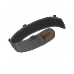 Slim Grip Padded Belt Slotted Wolf Gray