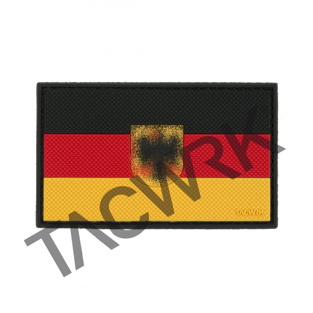 tacwrk deutschlandflagge wappen schwarz rot gold tacwrk. Black Bedroom Furniture Sets. Home Design Ideas
