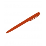 All Weather Pen Clicker Metal Blaze Orange Black Ink Schwarz