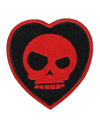 Triple Aught Design - Mean T-Skull Bloody Valentine Patch