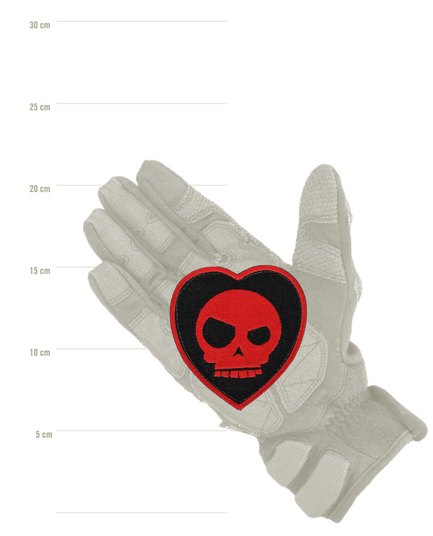 Triple Aught Design Mean T-Skull Bloody Valentine Patch