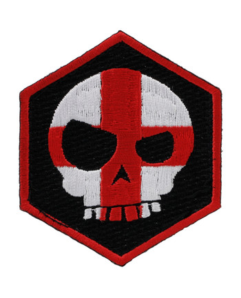 Triple Aught Design - Mean T-Skull Cross Hex Patch