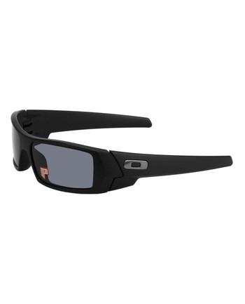 Oakley - Polarized Gascan Matte Schwarz / Grau