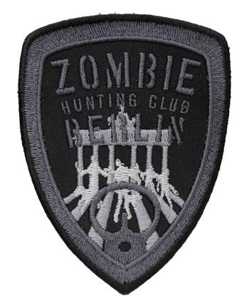 TACWRK - Zombie Hunting Club Patch Schwarz