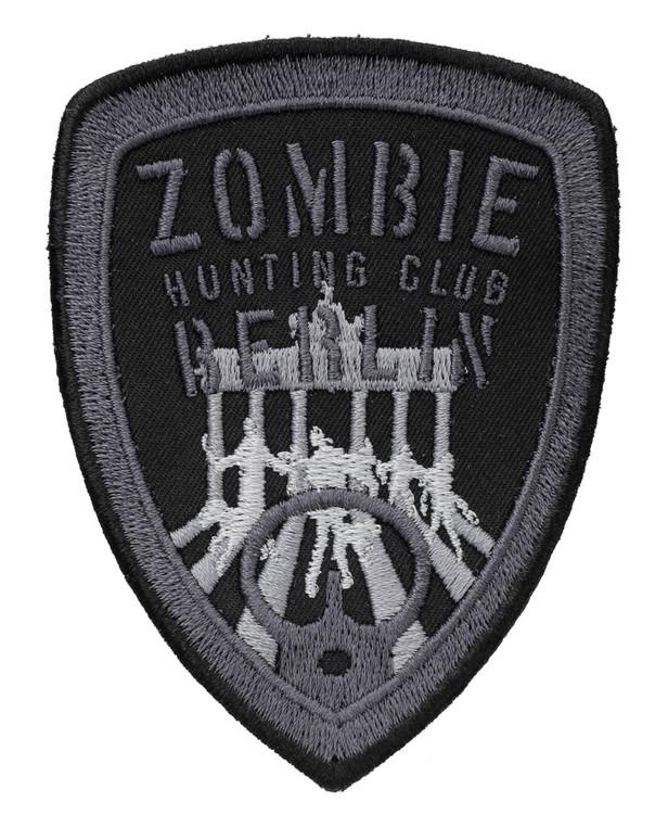 TACWRK Zombie Hunting Club Patch Schwarz