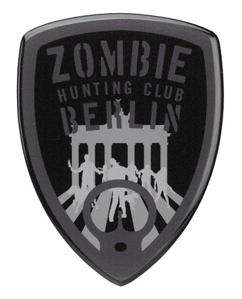 TACWRK - Zombie Sticker Black