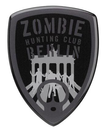 TACWRK - Zombie Sticker Schwarz