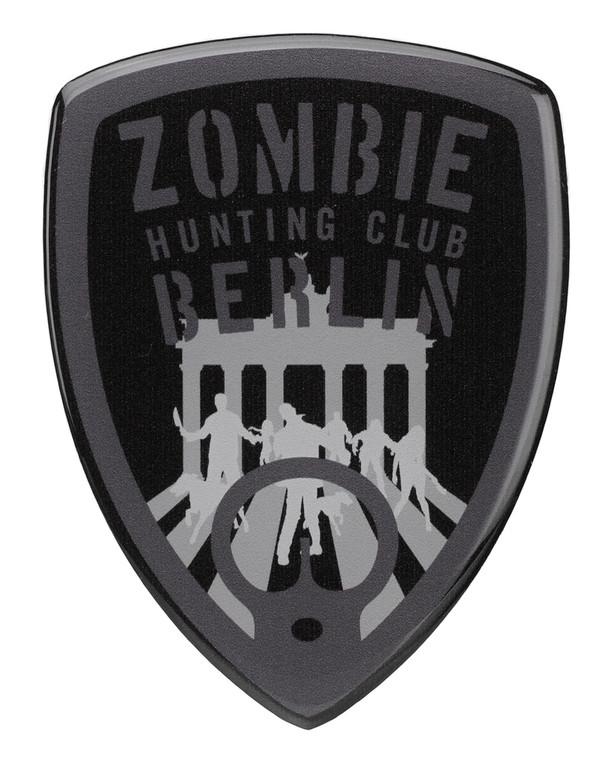 TACWRK Zombie Sticker Schwarz