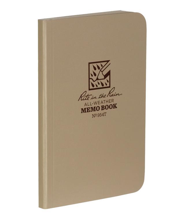 Rite in the Rain Tactical Memo Book Tan