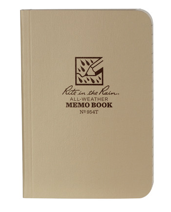 Rite in the Rain - Tactical Memo Book Tan