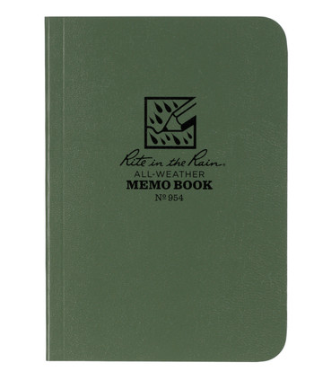 Rite in the Rain - Tactical Memo Book Green