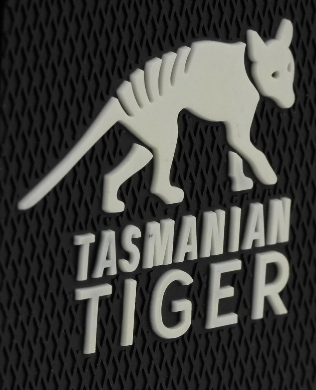 Tasmanian Tiger TT Patch Black Orange Marken-Logo PVC Klett-Patch 3D Optik