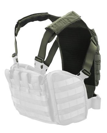 TASMANIAN TIGER - Rückenplatte Trooper Back Plate Oliv