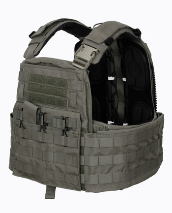 Crye Precision - CAGE Plate Carrier + Plate Pouch Set Ranger Green