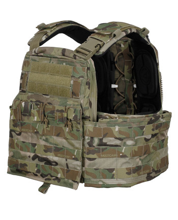 Crye Precision - CAGE Plate Carrier + Plate Pouch Set Multicam