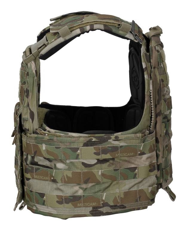 Crye Precision CAGE Plate Carrier + Plate Pouch Set Multicam