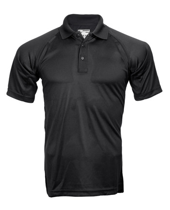 5.11 Tactical - Performance Polo Short Sleeve Schwarz