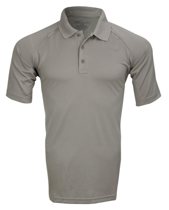 5.11 Tactical - Performance Polo Short Sleeve Silver Tan