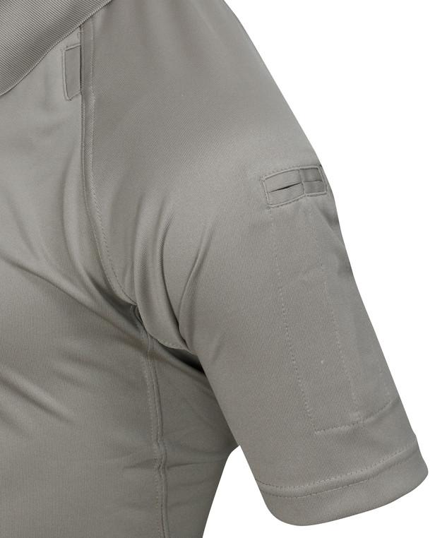 5.11 Tactical Performance Polo Short Sleeve Silver Tan