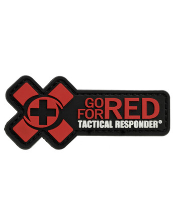 Tactical Responder - Go for Red Patch